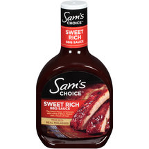 Sam's Choice Sweet Rich BBQ Sauce