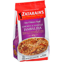 Zatarain's Meal For Two Chicken & Sausage Jambalaya