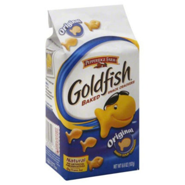 Pepperidge Farm Goldfish Goldfish Original Baked Snack Crackers