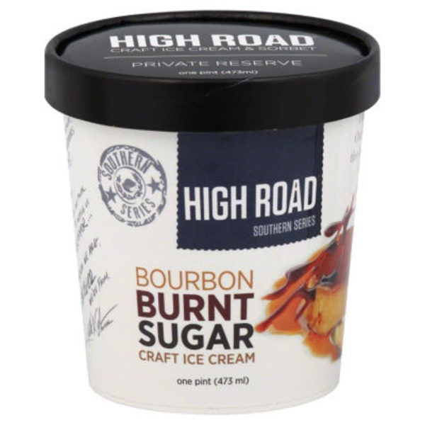 High Road Bourbon Burnt Sugar Craft Ice Cream