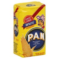 PAN Pre-Cooked White Corn Meal