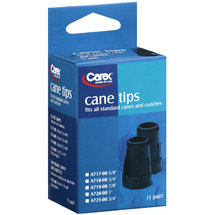 Carex: A717-00 5/8 Cane Tips