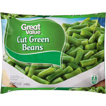 Great Value Frozen Cut Green Beans