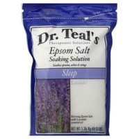 Dr. Teal's with Lavender Epsom Salt Soaking Solution