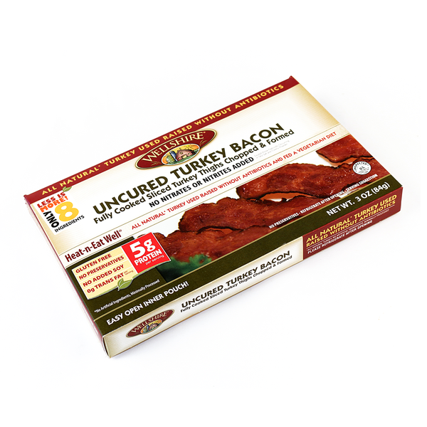 Wellshire Farms Fully Cooked Uncured Turkey Bacon