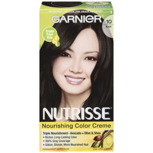 Nutrisse® 10 Black (Black Licorice) Nourishing Color Creme