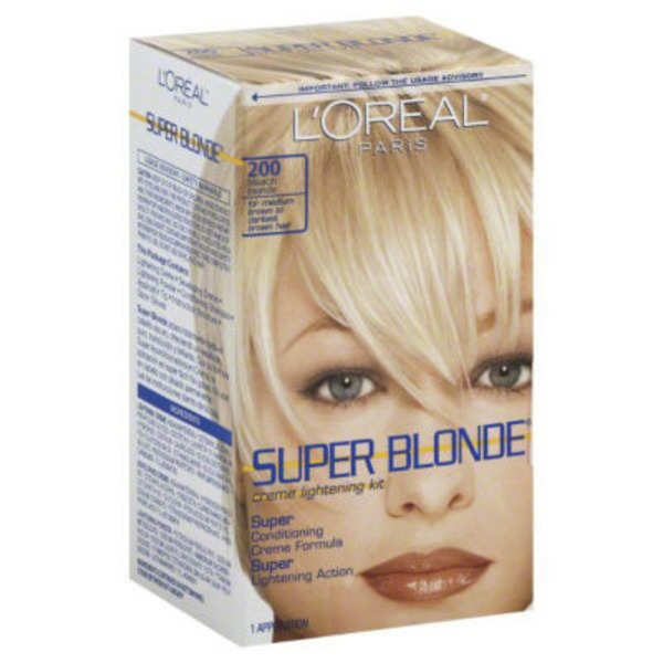 Super Blonde 200 Bleach Blonde Creme Lightening Kit