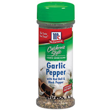 McCormick California Style Garlic Pepper