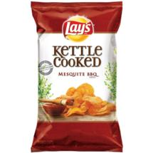 Lay's Kettle Cooked Potato Chips Mesquite Barbecue