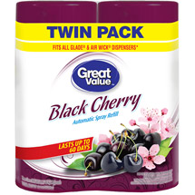 Great Value Black Cherry Automatic Spray Refill (Pack of 2)