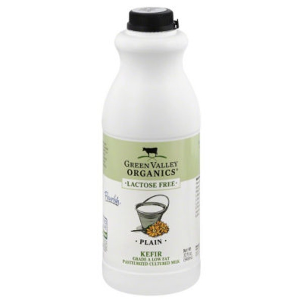Green Valley Organics Lactose Free Plain Kefir
