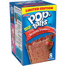 Kellogg's Pop-Tarts Frosted Chocolatey Strawberry Toaster Pastries