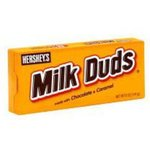 Hersheys Chocolate Candies Milk Duds Made w/Chocolate & Caramel