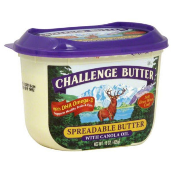 Challenge Spreadable with Canola Oil Butter