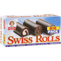 Little Debbie Snacks Big Pack Swiss Rolls