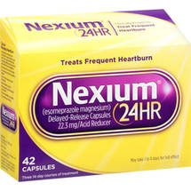 Nexium 24-Hour Delayed Release Heartburn Relief Capsules