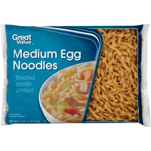Great Value: Medium Egg Noodles
