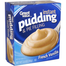 Great Value French Vanilla Instant Pudding & Pie Filling