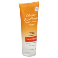 Neutrogena® Cream Cleanser Oil-Free Acne Wash