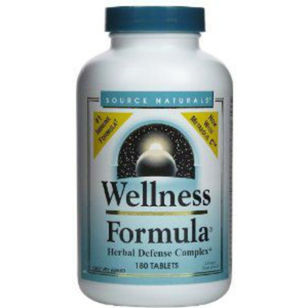 Source Naturals Wellness Formula Herbal Defense Complex Tablets