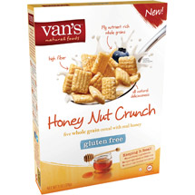 Van's Honey Nut Crunch Whole Grain Cereal