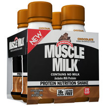 Muscle Milk Chocolate Protein Nutrition Shakes