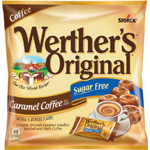 Werthers Sugar Free Caramel Coffee Hard Candies