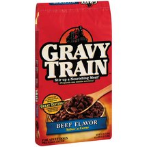Gravy Train Dog Food Beef Flavor