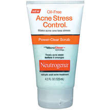 Neutrogena Power-Clear Scrub Oil-Free Acne Stress Control
