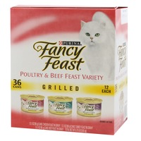 Fancy Feast Wet Grilled Poultry & Beef Collection Cat Food
