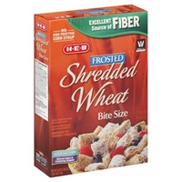H-E-B Frosted Shredded Wheat Bite Size Cereal