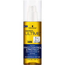 Schwarzkopf essence ULTIME Satin Frizz Control & Protect Nutri-Nectar Beauty Oil