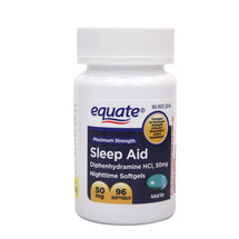 Equate Sleep Aid Liquidcaps
