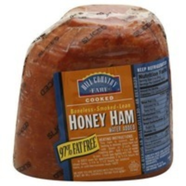 Hill Country Fare Fully Cooked Sliced Boneless Smoked Lean Honey Ham
