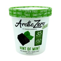 Arctic Zero Hint of Mint, Rich Chocolate with a Splash of Mint Fit Frozen Dessert
