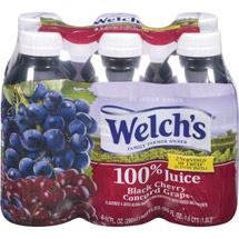 Welch's No Sugar Added 100% Black Cherry Concord Grape Juice