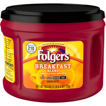 Folgers Breakfast Blend Mild Roast Ground Coffee