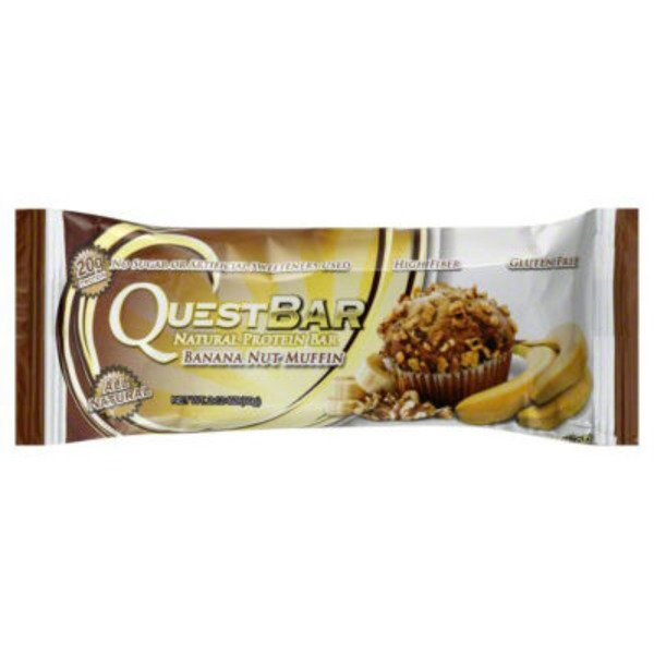 QuestBar Protein Bar Banana Nut Muffin