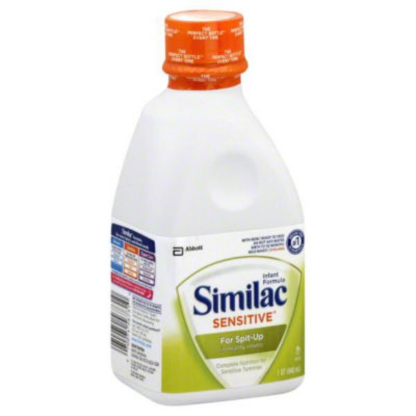 Similac Sensitive For Spit Up In Healthy Infants OptiGro with Iron Infant Formula