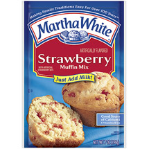 Martha White Muffin Mix Strawberry