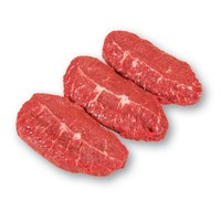 H-E-B USDA Select Boneless Thin Sliced Beef Top Blade Steak