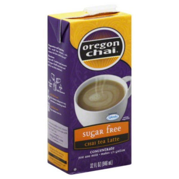 Oregon Cafe Chai Tea Latte Sugar Free