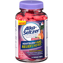 Alka-Seltzer Heartburn+Gas ReliefChews Tropical Punch Chewable Tablets