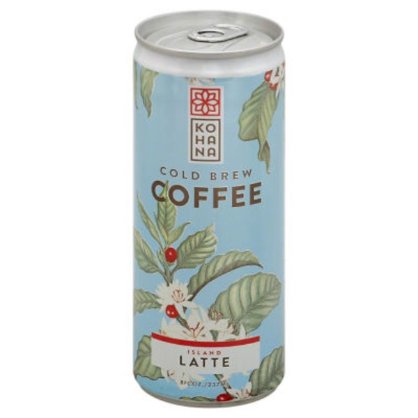 Kohana Coffee Cold Brew Coffee Island Latte