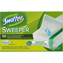 Swiffer Wet Mopping Refills with Febreze Freshness Citrus and Light