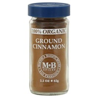Morton & Bassett Spices Organic Ground Cinnamon