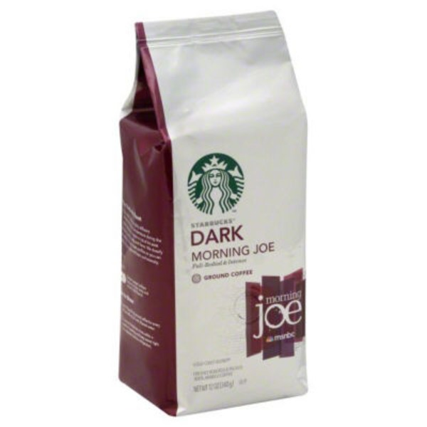 Starbucks Dark Morning Joe Ground Coffee
