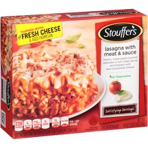 Stouffer's Satisfying Servings Large Size Lasagna