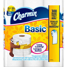 Charmin Basic Huge Roll Bathroom Tissue
