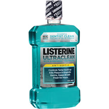 Listerine Ultraclean Antiseptic Cool Mint Mouthwash